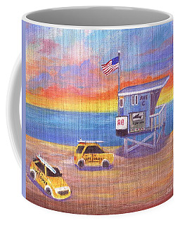 Coffee Mug featuring the painting Avenue C by Jamie Frier