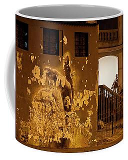 Coffee Mug featuring the photograph Avenue De Los Presidentes Havana Cuba by Charles Harden