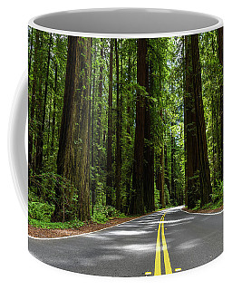 Avenue Of Giants Coffee Mug