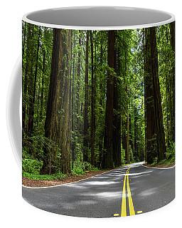 Avenue Of Giants Coffee Mug