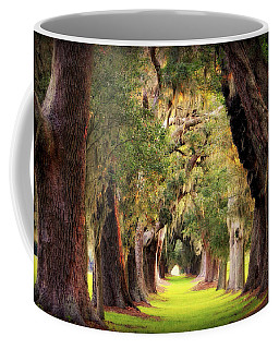Avenue Of Oaks Sea Island Golf Club St Simons Island Georgia Art Coffee Mug