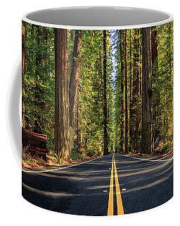 Coffee Mug featuring the photograph Avenue Of The Giants by James Eddy