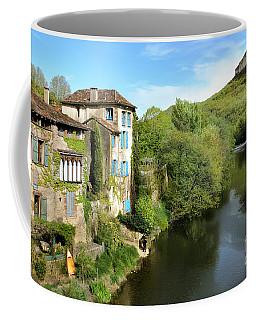 Aveyron River In Saint-antonin-noble-val Coffee Mug by RicardMN Photography