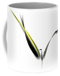 Avian Zen - Fractal Art Coffee Mug