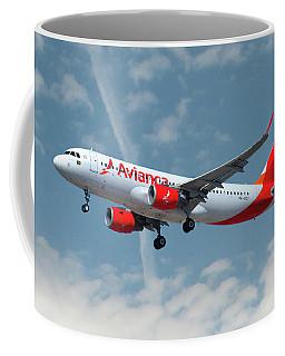 Avianca Airbus A320-214 Coffee Mug