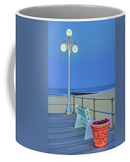 Avon Boardwalk At Twilight Coffee Mug