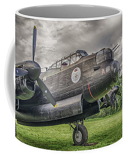 Avro Lancaster 3808 Coffee Mug by Guy Whiteley