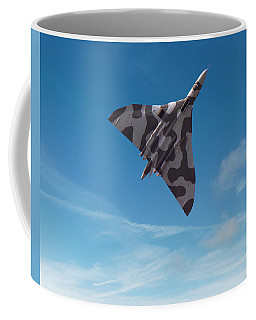 Coffee Mug featuring the digital art Avro Vulcan -1 by Paul Gulliver