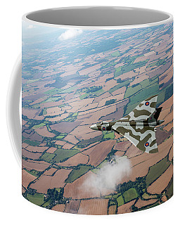 Avro Vulcan Over Essex Coffee Mug