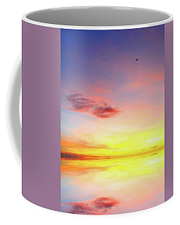 Coffee Mug featuring the photograph Awaiting Sunrise Three  by Lyle Crump