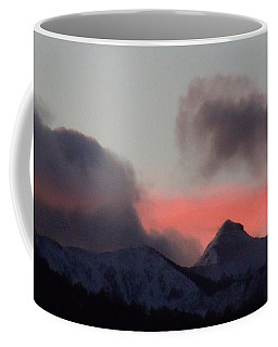 Awaken The Dawn Over Sheeps Head Peak El Valle New Mexico Coffee Mug by Anastasia Savage Ealy
