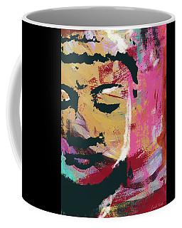 Awakened Buddha 3- Art By Linda Woods Coffee Mug
