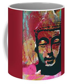 Awakened Buddha 4- Art By Linda Woods Coffee Mug