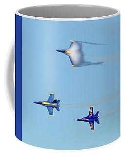 Awesome Blue Angel Vapor Cloud Coffee Mug