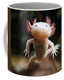 Axolotl Face Coffee Mug