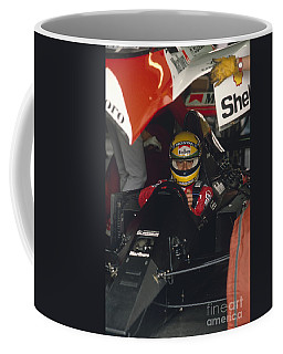 Ayrton Senna. 1990 Italian Grand Prix Coffee Mug