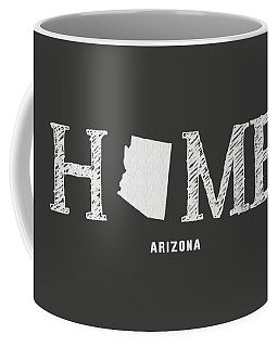 Coffee Mug featuring the mixed media Az Home by Nancy Ingersoll
