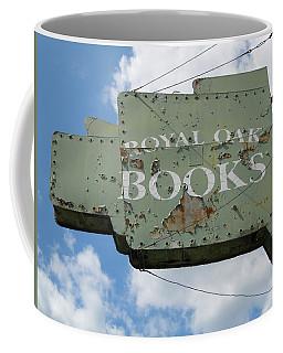 A Sign Of The Times Coffee Mug by Sandra Church