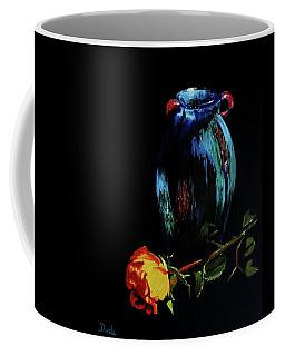 Azure Amphora Vase  Coffee Mug