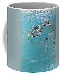Azure Wood Coffee Mug
