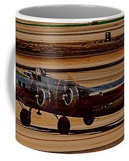 Coffee Mug featuring the photograph B-17 Bomber by Dart Humeston