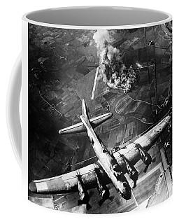 B-17 Bomber Over Germany  Coffee Mug