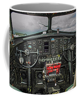 B-17 Cockpit Coffee Mug