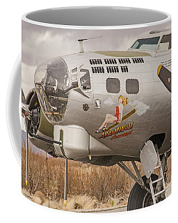 B-17 Nose Art Coffee Mug
