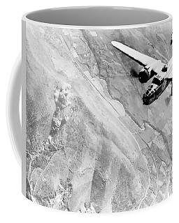 B-25 Bomber Over Germany Coffee Mug