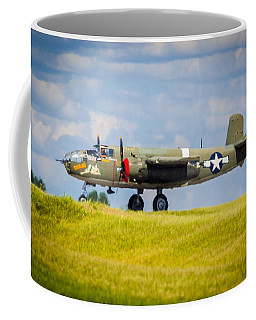 B-25 Landing Original Coffee Mug