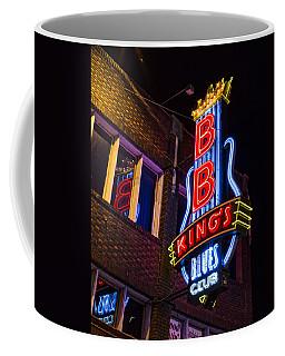 B B Kings On Beale Street Coffee Mug by Stephen Stookey