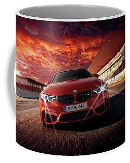 B M W  M 4 Coffee Mug by Movie Poster Prints