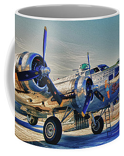 B17 Flying Fortress Sentimental Journey Coffee Mug