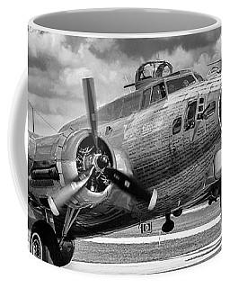 B17 Red Tail Coffee Mug by Chris Smith