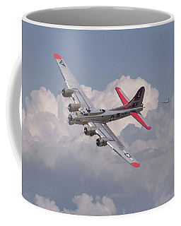 Coffee Mug featuring the photograph B17 - The Last Lap by Pat Speirs