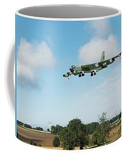 Coffee Mug featuring the digital art B52 Stratofortress by Paul Gulliver