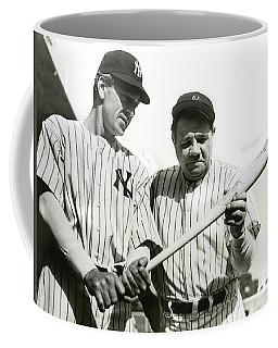 Babe Ruth And Lou Gehrig Coffee Mug