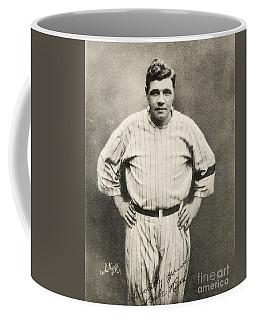 Babe Ruth Portrait Coffee Mug