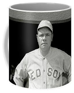 Babe Ruth Red Sox Coffee Mug