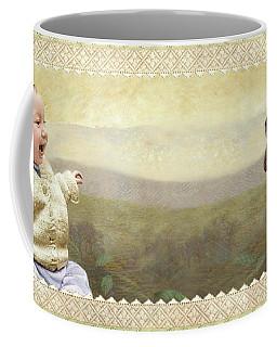 Baby And Bunny Talk Coffee Mug