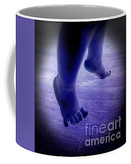 Baby Blu Dancing Royal Feet Coffee Mug