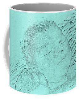 Baby Blue Bebe Azul Coffee Mug