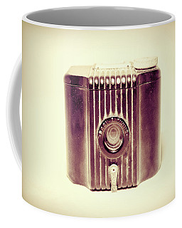 Baby Brownie Art Deco Camera In Sepia Coffee Mug