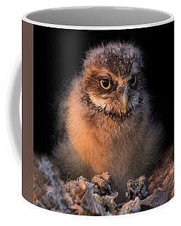 Baby Burrowing Cuteness Coffee Mug by Sue Cullumber