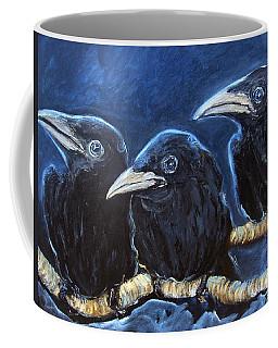 Baby Crows Coffee Mug