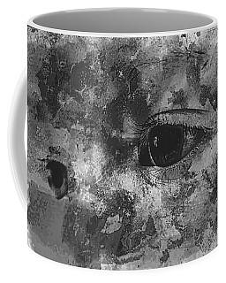 Baby Eyes, Black And White Coffee Mug