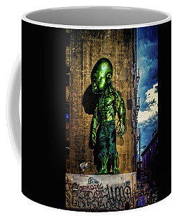 Coffee Mug featuring the photograph Baby Hulk by Chris Lord
