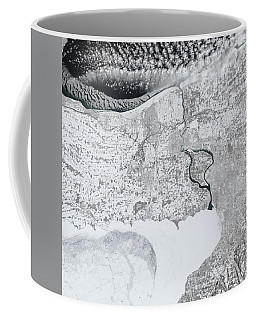 Coffee Mug featuring the painting Baby, It's Cold Outside by Artistic Panda