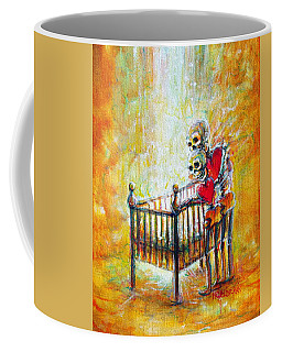 Coffee Mug featuring the painting Baby Love by Heather Calderon