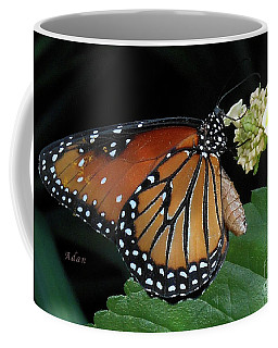 Baby Monarch Macro Coffee Mug